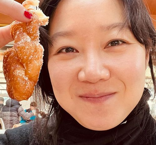 Gong Hyo-jin, a prettiest meal with a simple face...'Real Happiness'