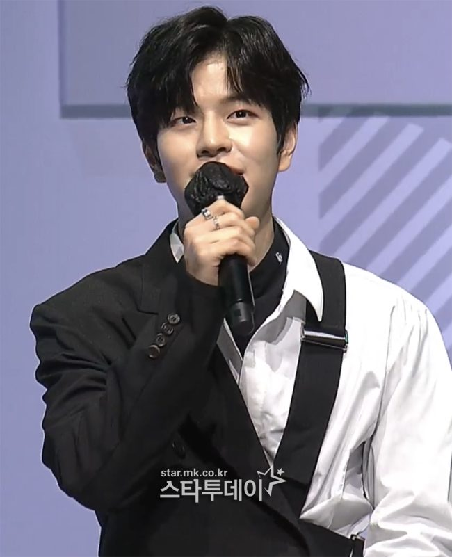 """Stray Kids Seungmin """"When I was a trainee, I endured with one eagerness"""" [MBN Y Forum 2021]"""