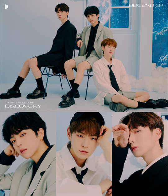 BDC unveils the last concept photo of a new album 'The textbook case of a good-looking guys'