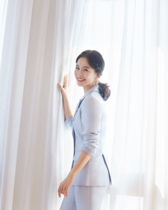 Jeong Hye-young the 49-year-old woman, having 4 babies