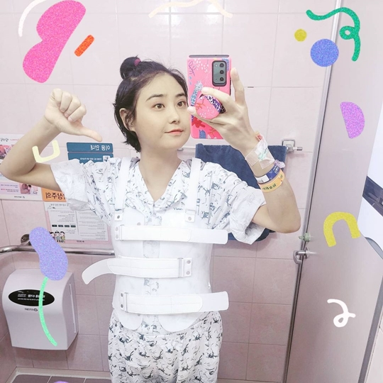 """""""Sudden liver failure."""" Yoon-joo, thoracic fracture. """"She's losing a lot of bones."""""""