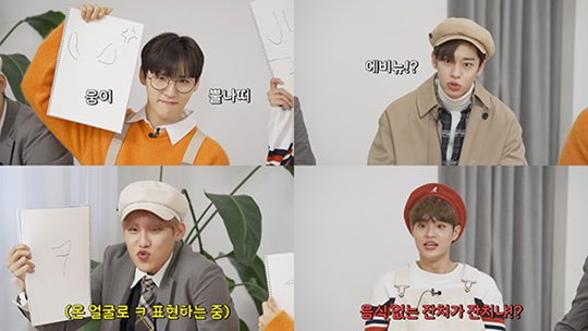 AB6IX Announces Massive Release of Toe Talent in its own entertainment show 'AB6IX's Peaceful Today'