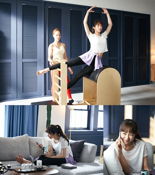 Ahn Hee-yeon, 'Still Not Thirty', poses and looks perfect...Pilates Goddess