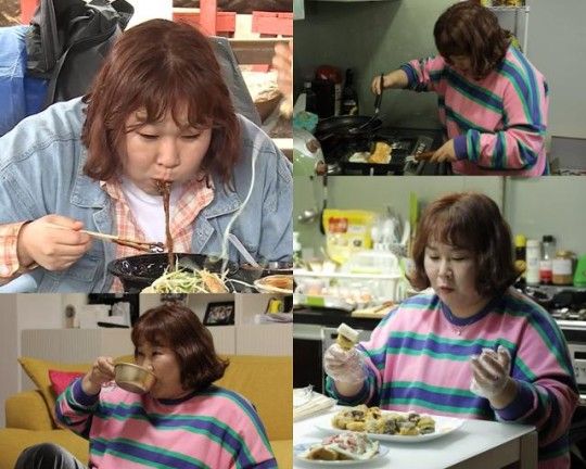 'Mokbang Fairy' Kim Min-kyung, the best tips to eat jajangmyeon deliciously? ('I live alone')