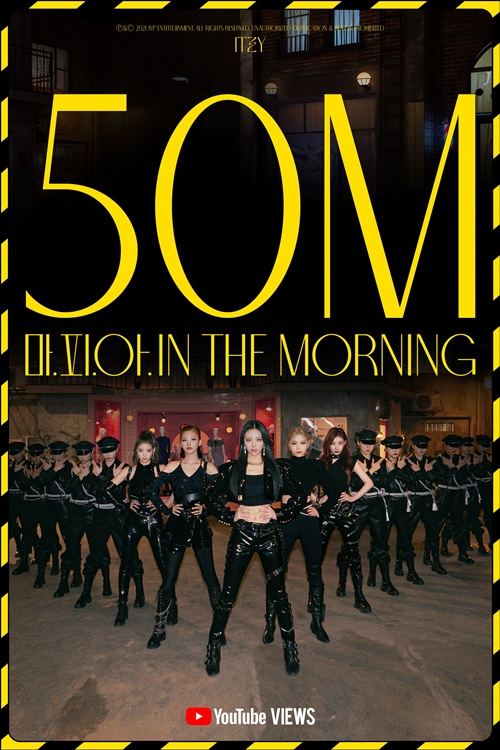 ITZY 'Mafia in the Morning' MV surpassed 50 million views on 3 days after being released