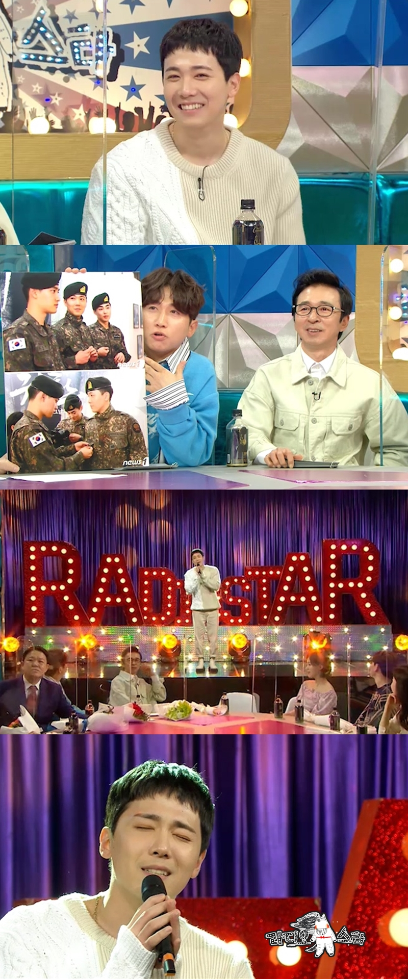 """'FNC sniper' Lee Hong-ki """"Radio Star was helpful to me to renew the contract"""""""