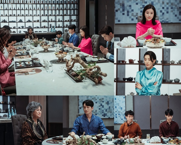 'Mine' Hyowon family catches a family dinner...The reality of the Chaebol family?