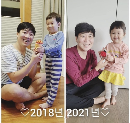 """Do Gyeong-wan received carnation from his children """"I am a parent"""""""