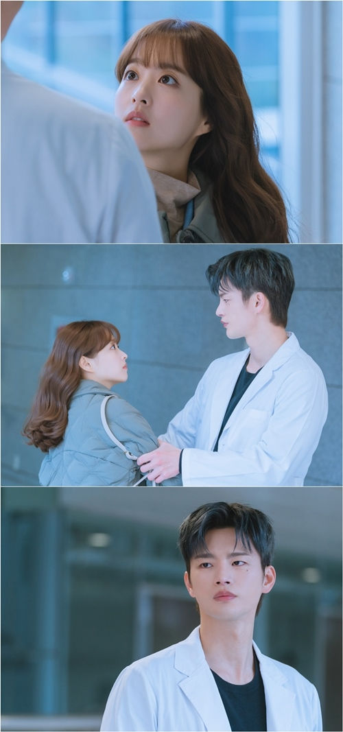 'Doom at Your Service' Park Bo-young and Seo In-guk, caught meeting in hospital... First meeting or reunion?