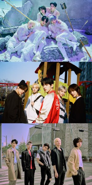 TXT, 4 albums in a row on the Japanese Oricon Chart